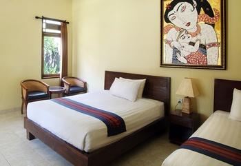 Puri Rinjani Bungalows Lombok - Family Room Regular Plan