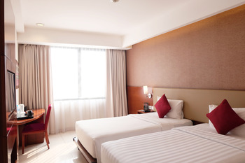 Santika Premiere Bintaro - Deluxe Room Twin Offer  Last Minute Deal 2021