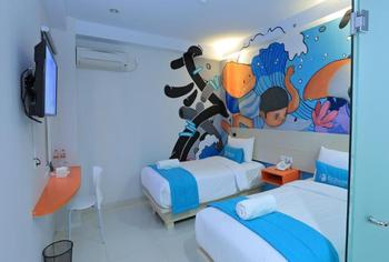 Fizz Hotel Lombok Lombok - Junior Twin Room Only Regular Plan