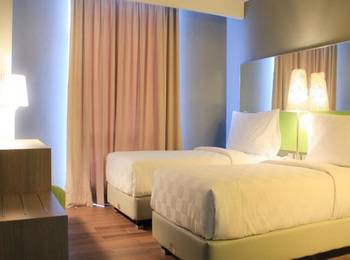 Pesonna Hotel Semarang - Deluxe Twin Regular Plan
