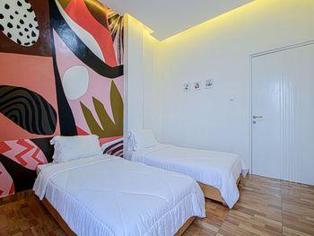 Hotel Kupu Kupu Lembang - Deluxe Twin Room KETUPAT