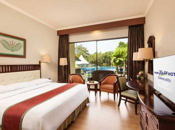 Prime Plaza Hotel Purwakarta - Deluxe Balcony Twin With Breakfast Special Deals