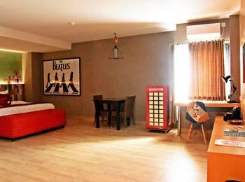 Meotel Purwokerto - Junior Suite Room Regular Plan