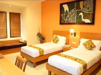 The Luxio Hotel & Resort Sorong - KAMAR DELUXE DENGAN 2 TEMPAT TIDUR Regular Plan