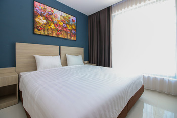 Sky Residence Kriskencana 1 Surabaya Surabaya - Deluxe Double Room Only Regular Plan