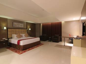 Travello Hotel Bandung - Deluxe with breakfast HIJRIYAH PROMO
