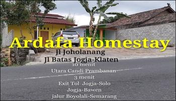 Ardafa Homestay Yogyakarta - Standard Room Only 5 Person Regular Plan