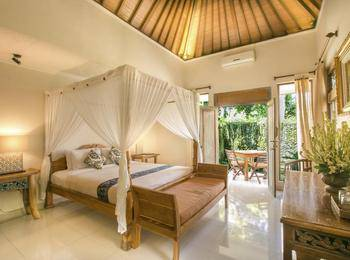 Gusde Tranquil Villa Bali - Deluxe Garden View Regular Plan