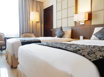 Kedaton Hotel Bandung - Deluxe Twin With Breakfast Regular Plan