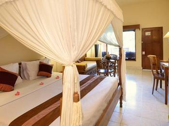 Diwangkara Beach Hotel & Resort Bali - Suite Lagoon With Share Pool Promo Hot Deals