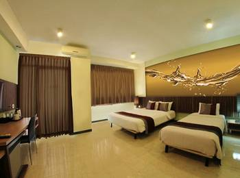 Valore Hotel Cimahi - Deluxe Triple Bed (With 3 Pax Breakfast) Regular Plan