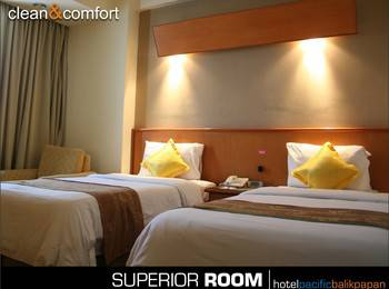 Hotel Pacific Balikpapan - Superior Twin Room Only #WIDIH - Pegipegi Promotion