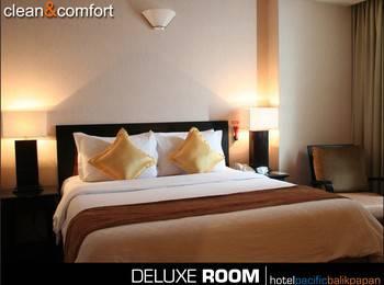 Hotel Pacific Balikpapan Balikpapan - Deluxe Double Room Regular Plan