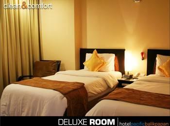 Hotel Pacific Balikpapan Balikpapan - Deluxe Twin Room  Regular Plan