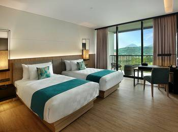Royal Tulip Gunung Geulis Bogor - Deluxe Twin Bed Regular Plan