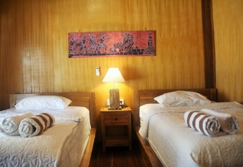 Aldi's Bungalow Lombok - Exotic Bungalow with Twin Bed Last but not Least