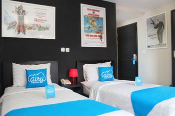 Airy Legian Troppo Zone 8 Kuta Bali - Standard Twin Room Only Regular Plan