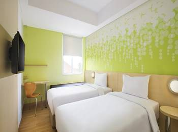 Zest Hotel Bogor - Zest Twin Room only Regular Plan