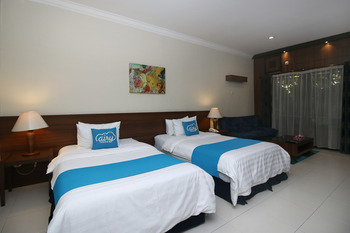 Airy Premier Pulau Samosir 9 Parapat Samosir - Deluxe Twin Room with Breakfast Special Promo Sep 42