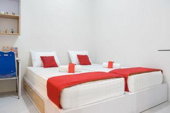De Cengger Guesthouse Malang - Standard Twin Room Regular Plan