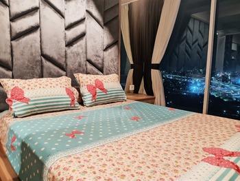Grand Kamala Lagoon Apartement By Araia Room Bekasi - 2 Bedroom Corner A Regular Plan