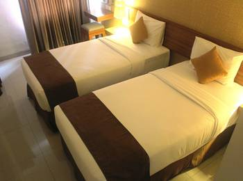 h Boutique Hotel Yogyakarta - Deluxe Room Twin - With Breakfast Special Twin Bed Room 30% Off Promo