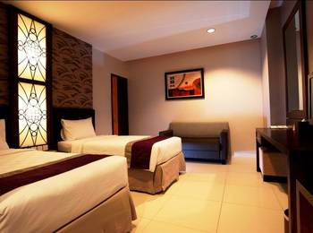 NASA Hotel Banjarmasin Banjarmasin - Standard Room Twin Bed Room Only Regular Plan