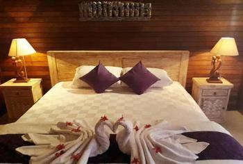Kubu Arma Lembongan Bali - Superior Room dengan pemandangan kolam dan taman Regular Plan