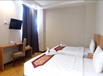 Syariah Radho Hotel Malang - DELUXE TWIN ROOM ONLY Regular Plan