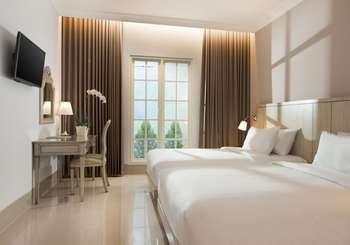 Hotel Santika Seminyak - Deluxe Room Twin Staycation Offer Room Only Regular Plan