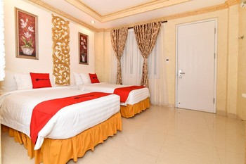 RedDoorz Plus near Discovery Shopping Mall Bali Bali - RedDoorz Deluxe Twin with Breakfast Regular Plan
