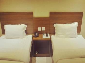 Hotel Mustika Tanah Abang Jakarta - Standard Twin Room Regular Plan