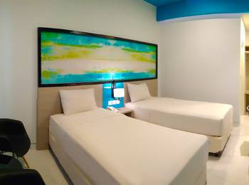 Hotel Nirwana Pekalongan - Superior Twin Smoking  Regular Plan