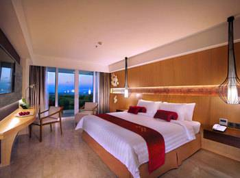 Ungasan Bay View Hotel & Convention Bali - Deluxe Bay View with pool access  Regular Plan