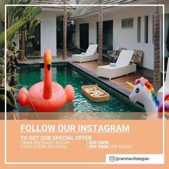 Ramita Villa Legian by Madhava Bali - One Bedroom Private Pool Villa HOT DEAL - 3BR