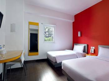 Amaris Padjajaran Bogor - Smart Room Twin Regular Plan