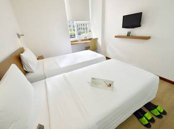 Whiz Hotel Malioboro Yogyakarta - Whiz Twin Single Occupancy Regular Plan