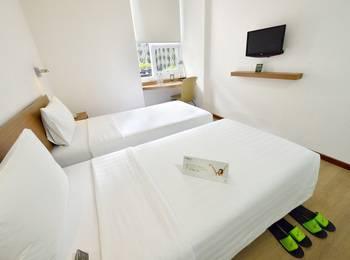 Whiz Hotel Malioboro Yogyakarta - Superior Twin Single Occupancy Exclusive Promotion