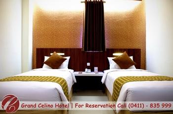 Grand Celino Hotel Makassar - Deluxe Twin Room Only Basic Deal 20%