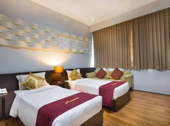 A Residence Bali - Deluxe Room With Breakfast Regular Plan