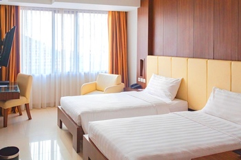Anugrah Hotel Sukabumi - Superior Twin Room Only Regular Plan