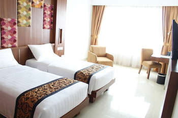 Anugrah Hotel Sukabumi - Deluxe Twin Room (1 Pax Breakfast) Regular Plan