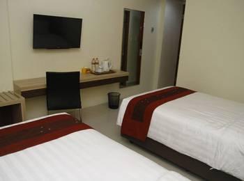 Hersya Front One Inn Surabaya - Deluxe Tempat Tidur Twin SAFECATION