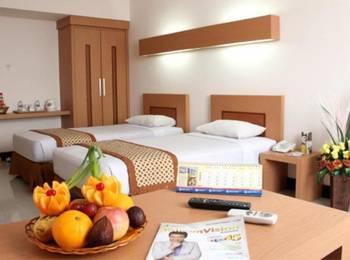 Ceria Hotel Jambi by Tritama Hospitality Jambi - Deluxe Twin Room Regular Plan