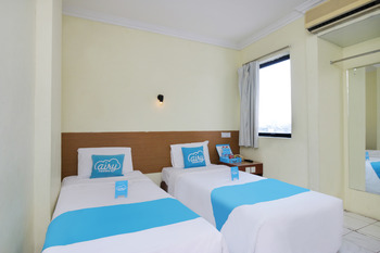 Airy Eco Sawah Besar Kartini Lautze 24 Jakarta Jakarta - Deluxe Twin Room Only Special Promo May 33