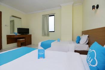 Airy Eco Sawah Besar Kartini Lautze 24 Jakarta Jakarta - Premium Twin Room with Breakfast Special Promo Jan 24
