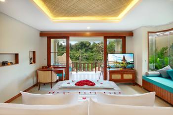 Aksari Resort Ubud Bali - Aksari Suite with Public Infinity Pool Special Offer