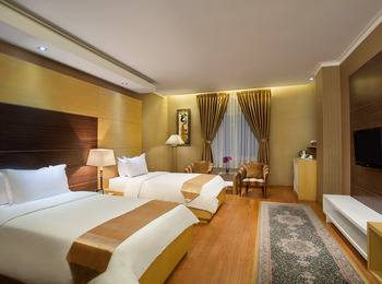 Sahati Hotel Jakarta - Deluxe Twin Bed Room Regular Plan