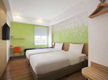 Zest Hotel Yogyakarta - Zest Twin Room Only Regular Plan