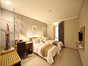 Gandasari Hotel Bandung - Superior Twin Bed Room Only Great Deal